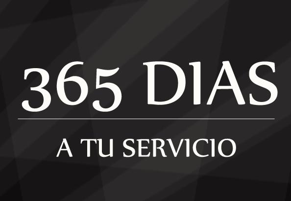 365 dias a su servicio